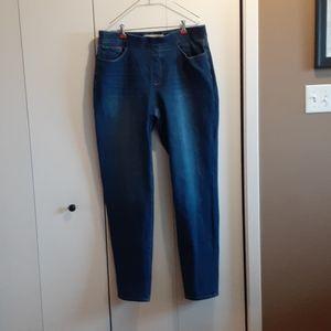 Soft Surroundings denim jeans pull on pants